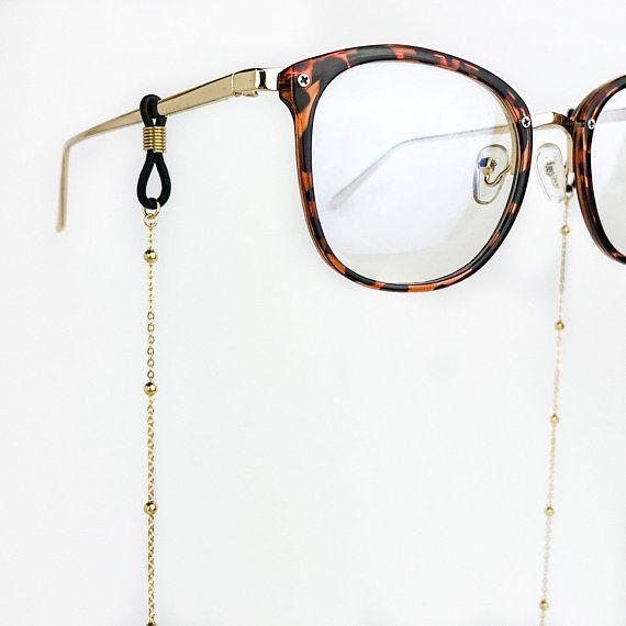 54d0da11d7f3 Gold Satellite Chain Glasses Chain