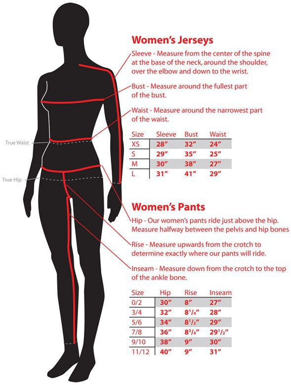Sizing Chart (With images) | Motocross love, Atv ...