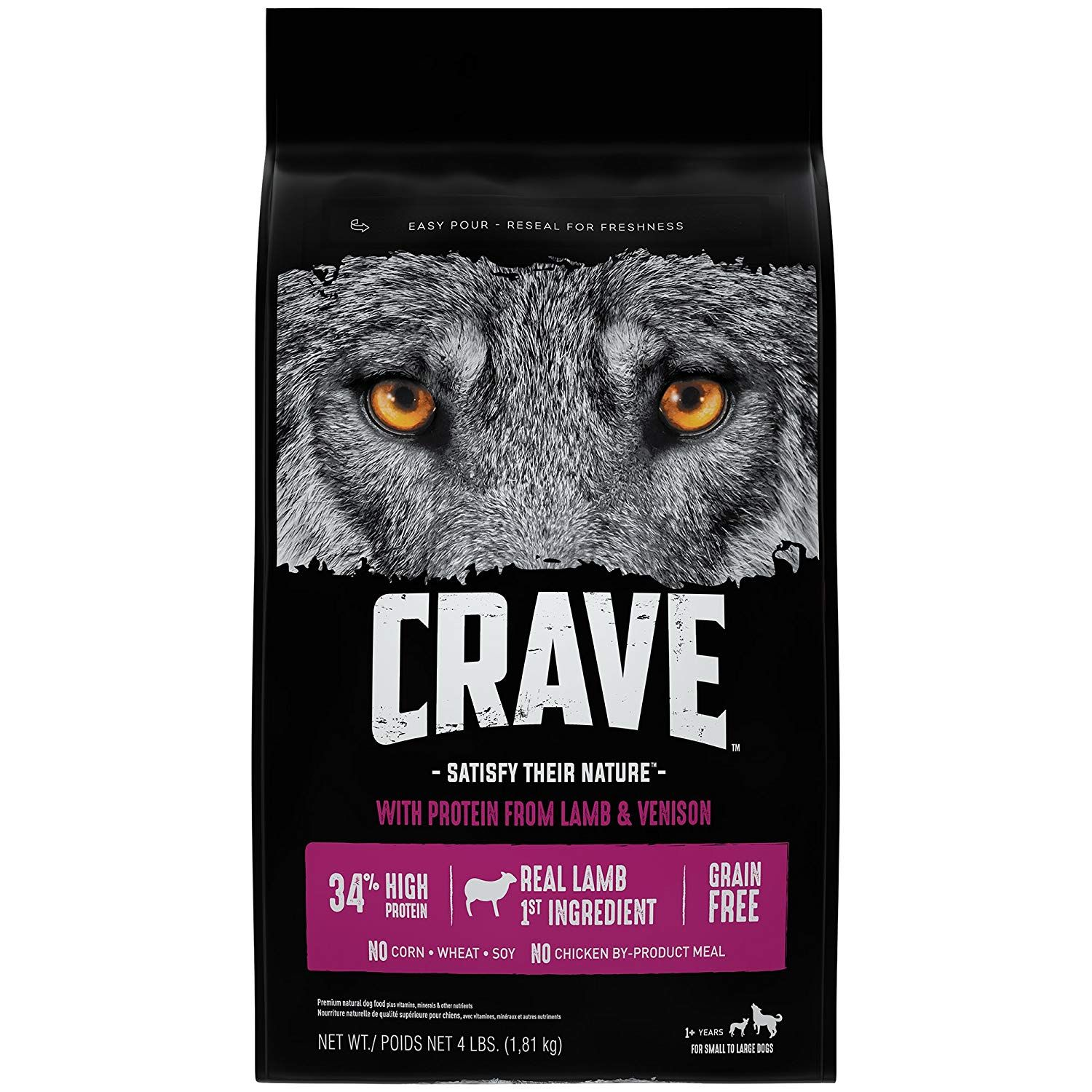 Crave Grain Free High Protein Dry Dog Food Check This Awesome Product By Going To The Link At The Image Dog Food Recipes Dry Dog Food Large Breed Dog Food