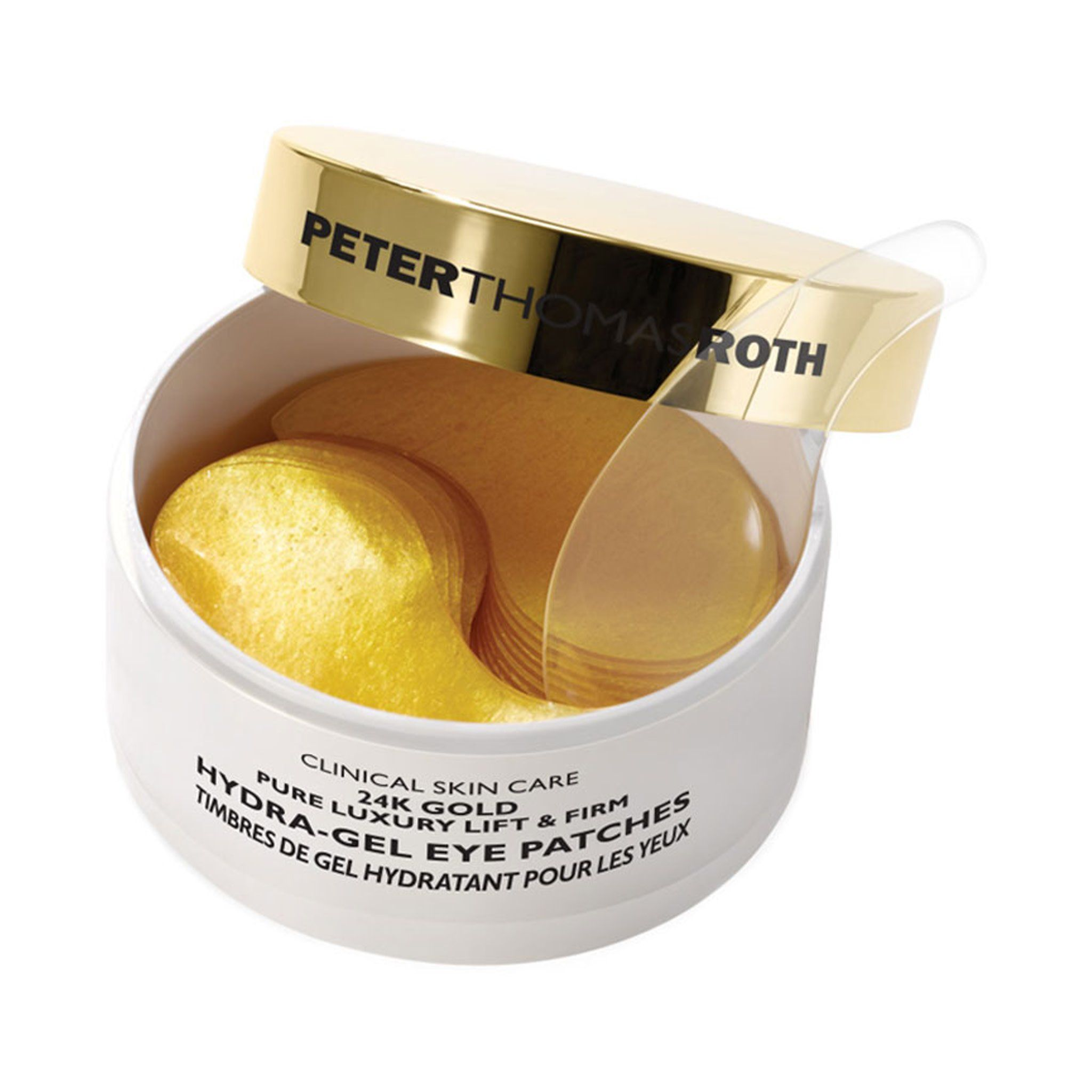 24k Gold Pure Luxury Lift And Firm Hydra Gel Eye Patches Anti Aging Skin Products Pure Products Peter Thomas Roth
