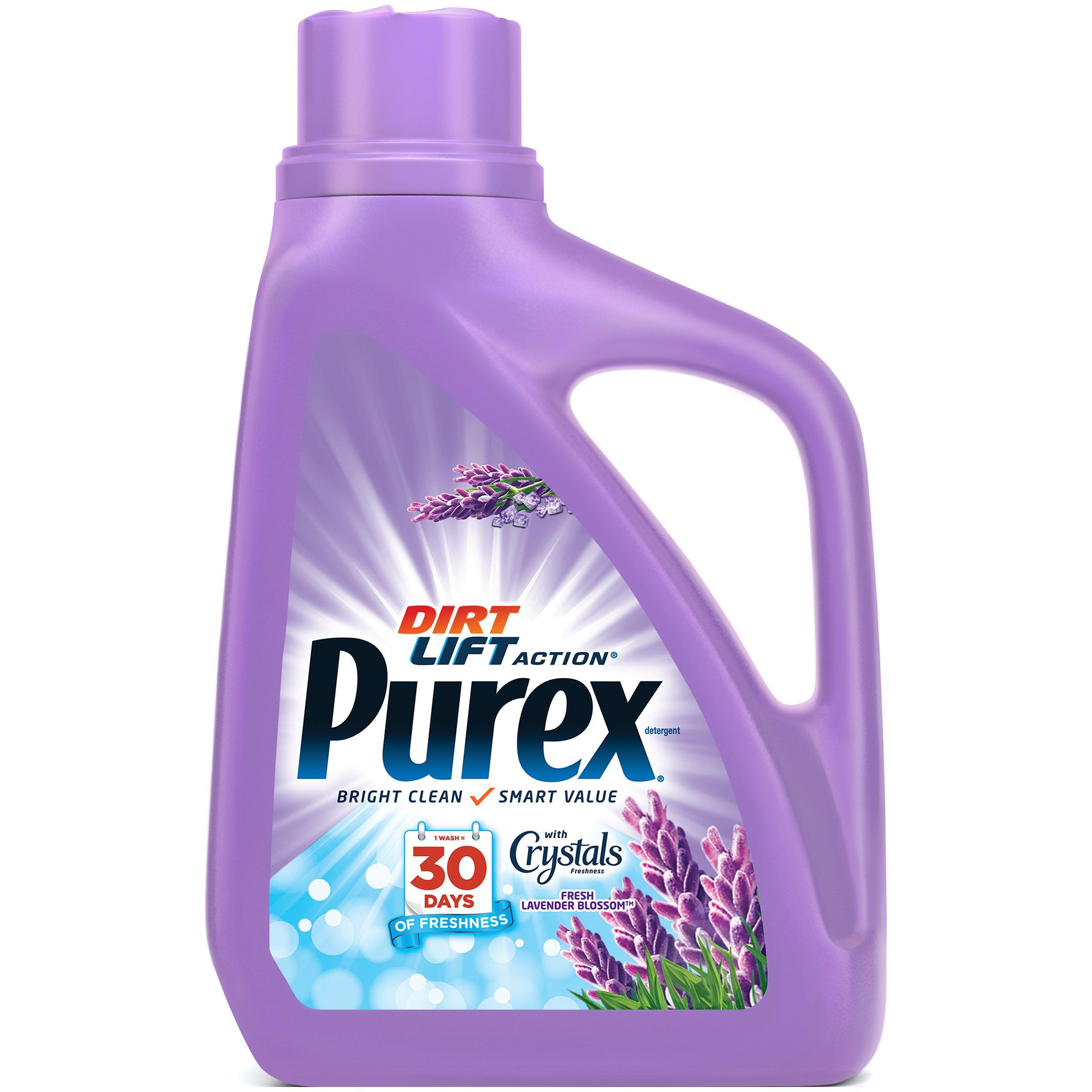 Purex Liquid Laundry Detergent With Crystals Fragrance Fresh