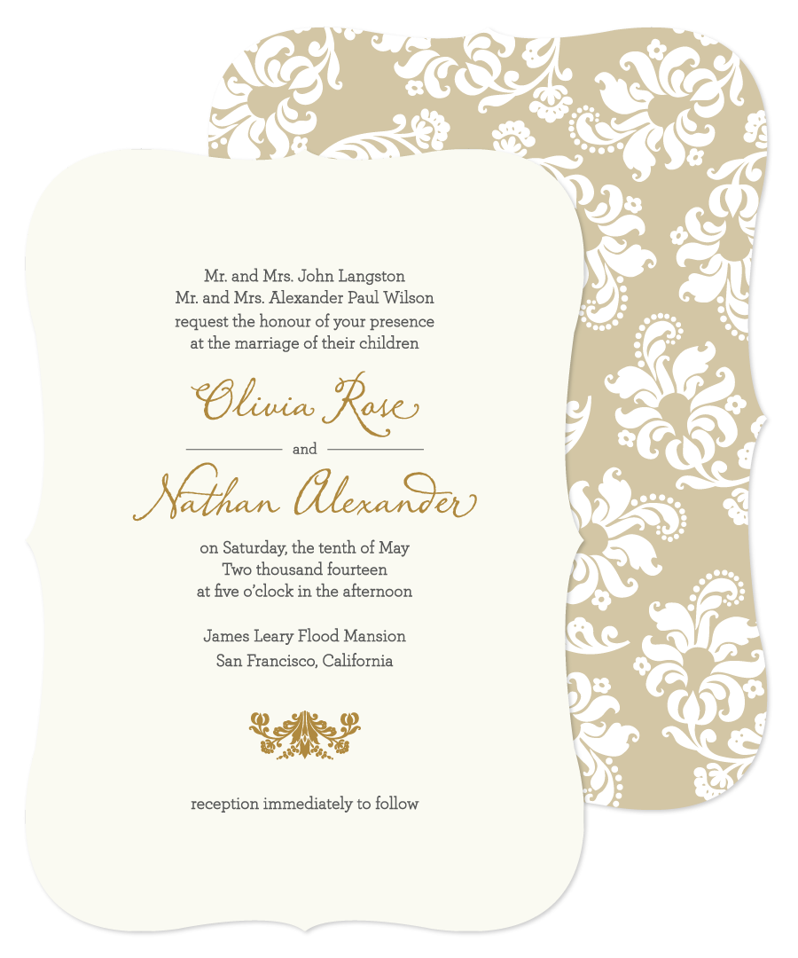 Sample Invitations For Wedding: Lovable Wedding Card Invitation Sample Wedding Invitations