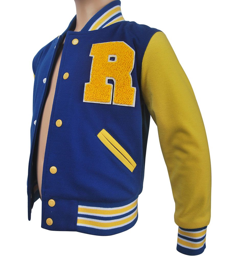 Kids boys Riverdale Archie Andrews jacket coat halloween costume xmas gift toys