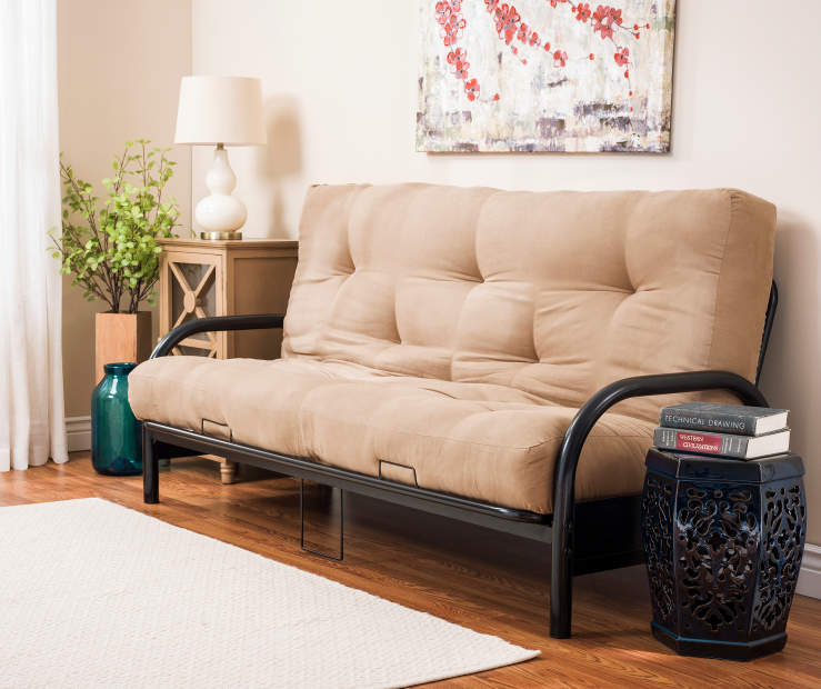 Black Futon Frame and Mattress Collection Big Lots