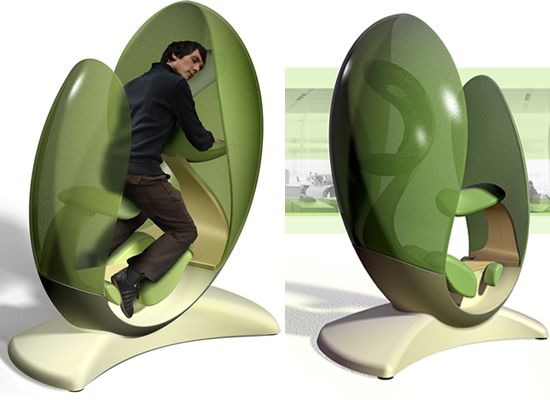 Energy Pod coolest sleeping pods for some serious napping job | gadget