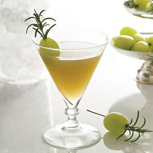 Grape Rosemary Martini