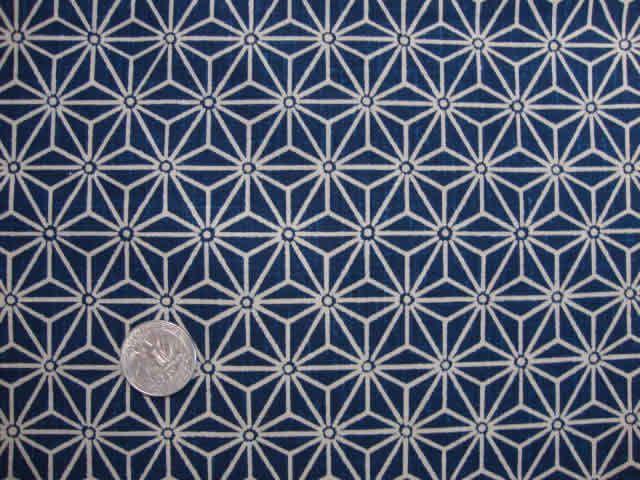 tissu japonais motif g om trique bleu 7 50 via etsy patterns textile design fabric pattern. Black Bedroom Furniture Sets. Home Design Ideas