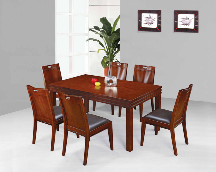 Solid Wood Dining Sets Gt06Gc06  Bump  Pinterest  Dining Simple Dining Room Sets Solid Wood Review