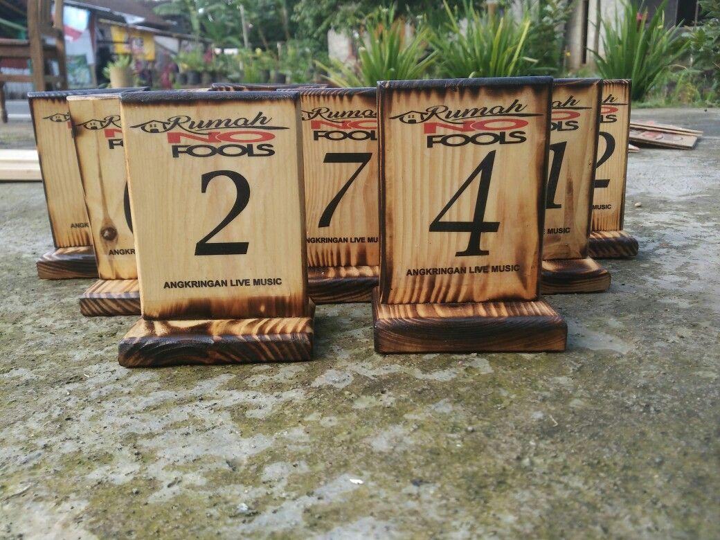 Nomor Meja Rumah Makan Custom Nomor Rumah Rumah Makanan