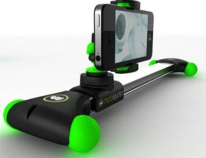Sweet set up dolly system for smart phones.