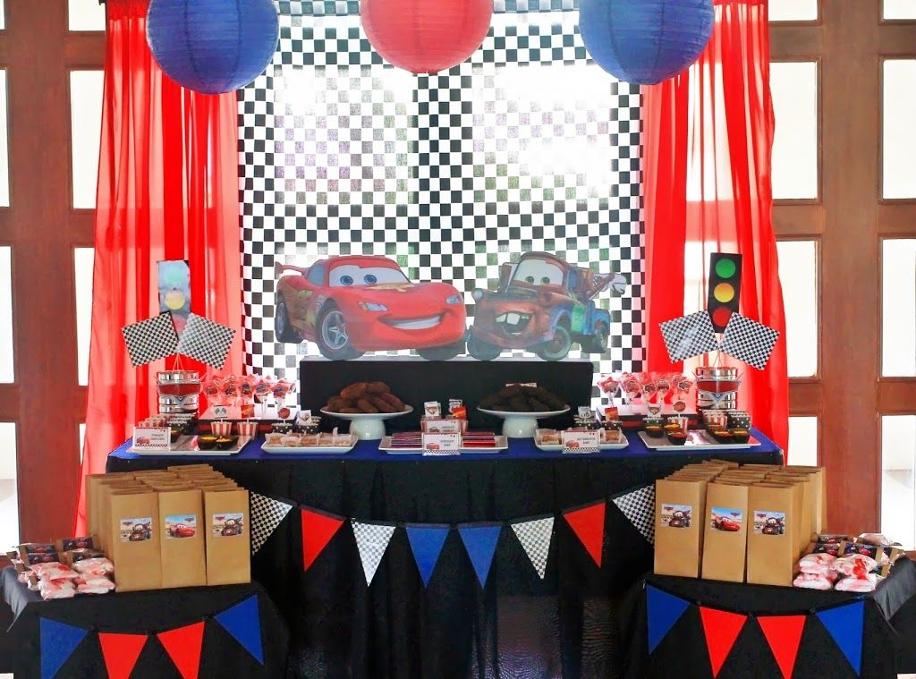lightningmcqueenbirthdayparty Disney Cars Lightning McQueen and