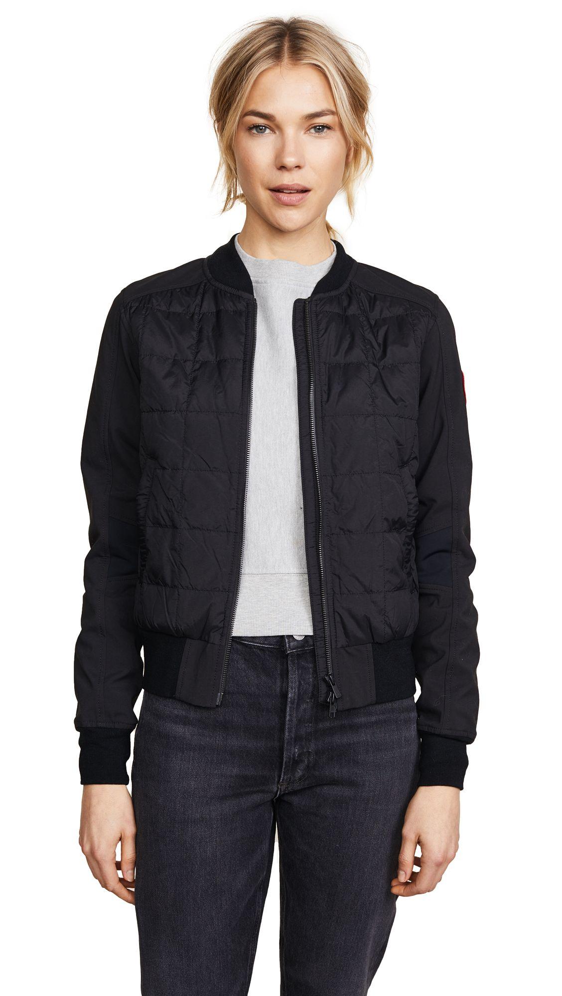 canada goose redstone jacket black