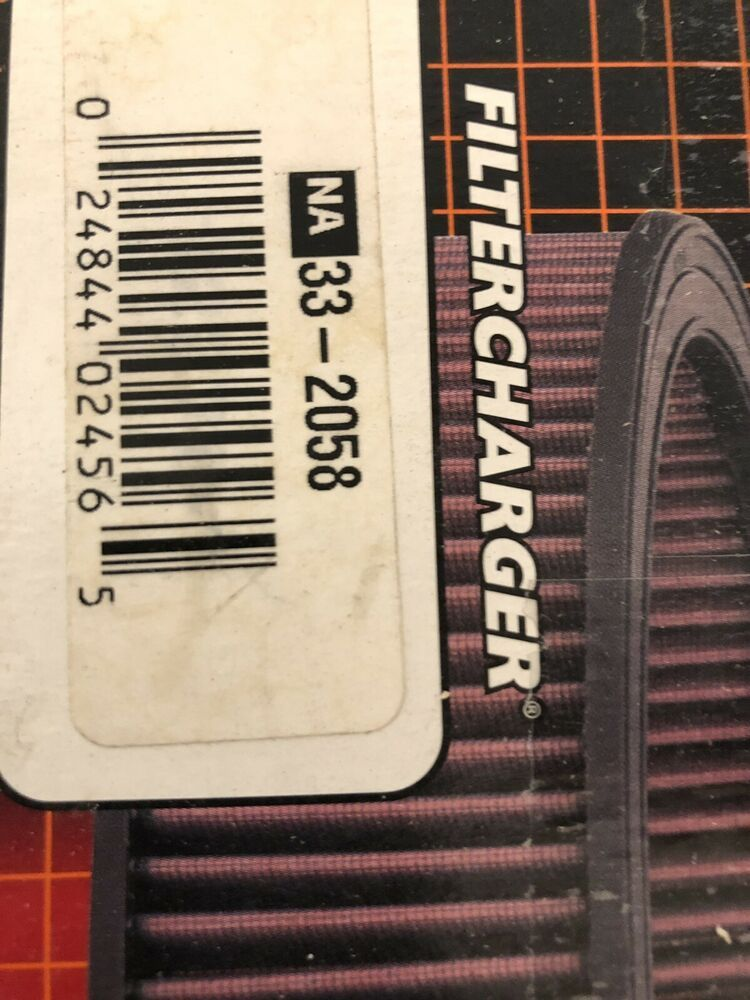(Sponsored eBay) K&N 332058 Replacement Panel Air Filter
