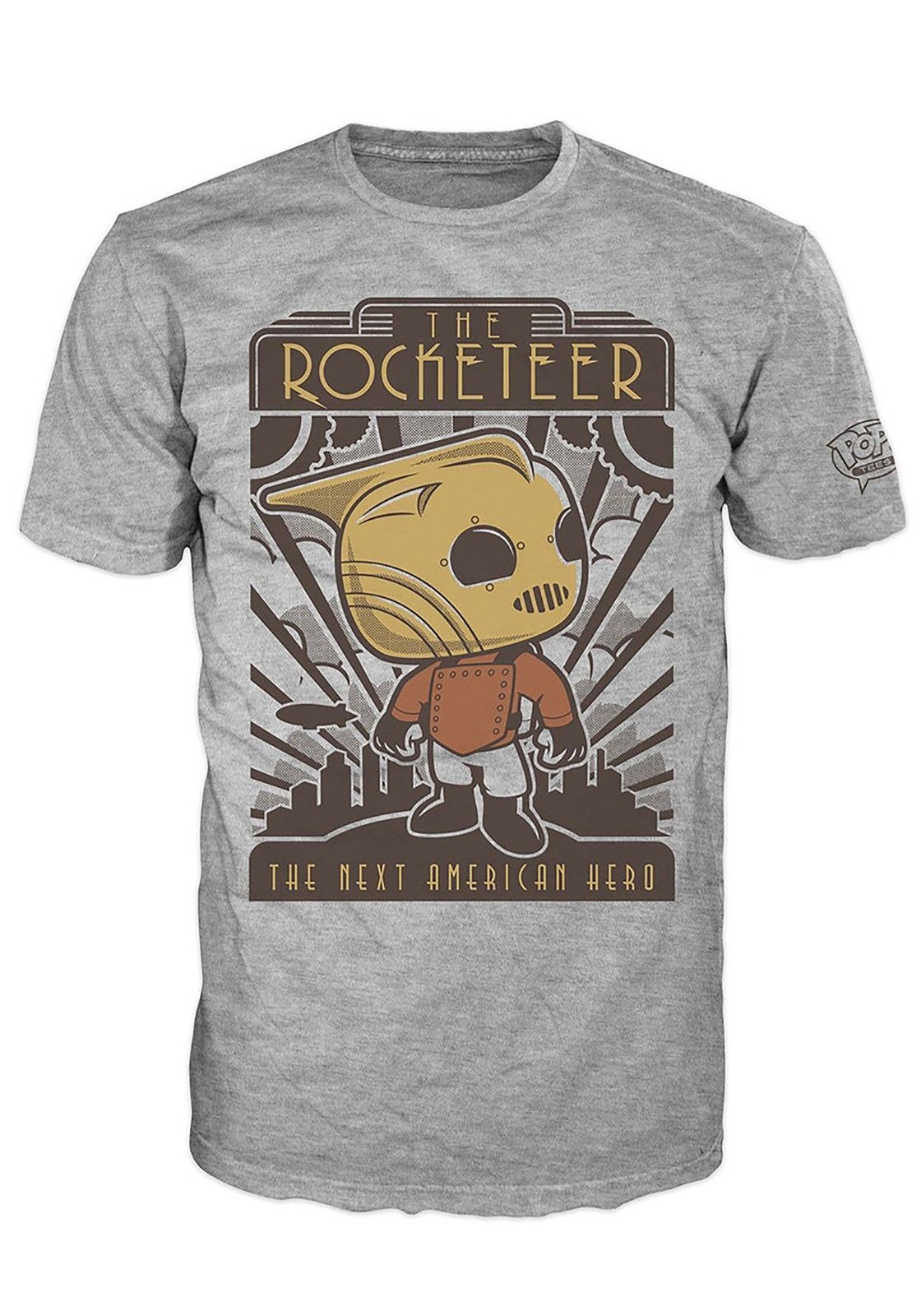 2fc95a793 POP Tees Disney Rocketeer Hero Men's T-Shirt in 2019 | Andrew. Day ...
