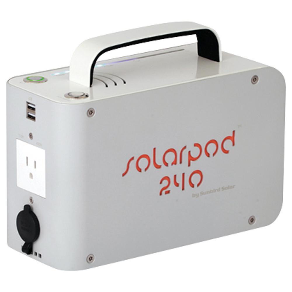 Solpro Solarpod 12 Volt 15 Amp 240 Portable Solar Power Station