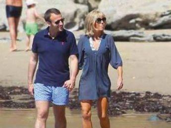 """Résultat de recherche d'images pour """"couple macron en maillot"""""""