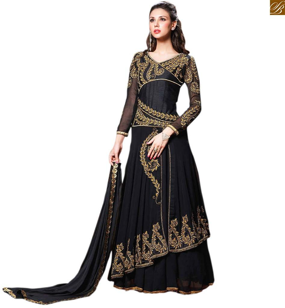 Girl #suits with stylish dupatta draping styles of salwar kameez ...