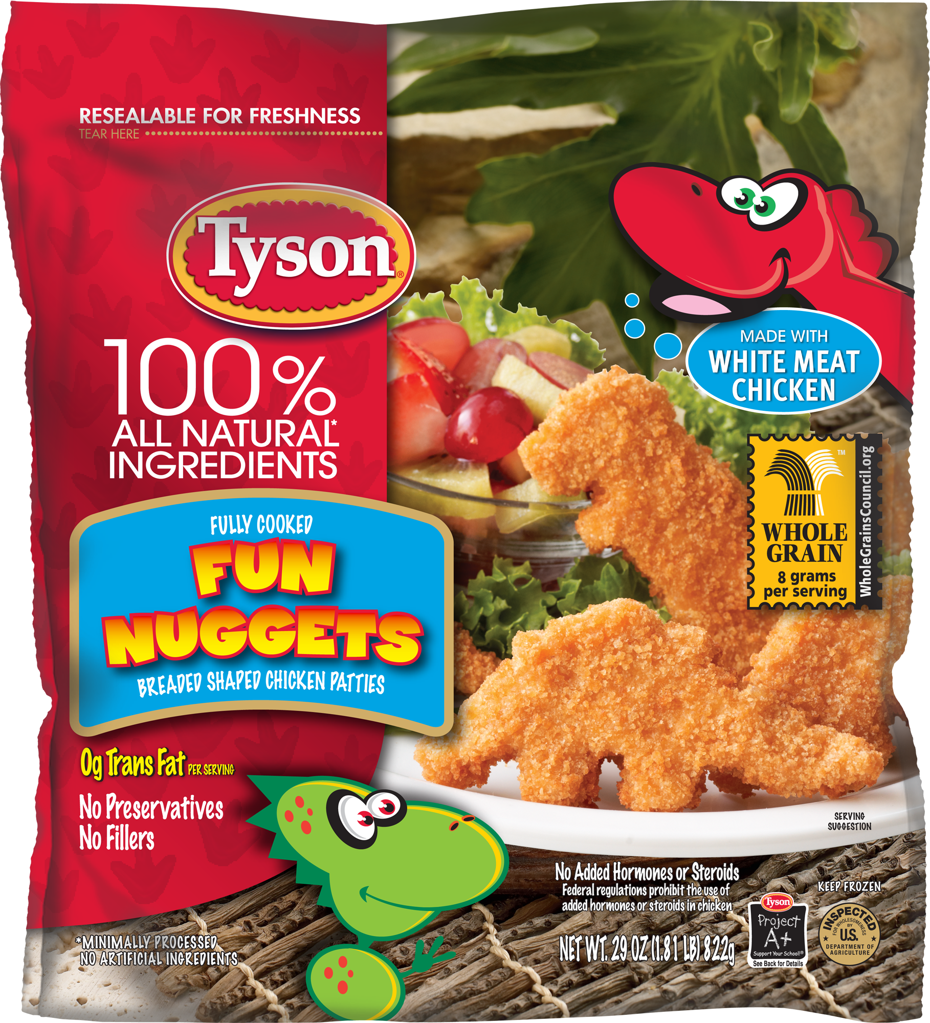 Fully Cooked Nuggets Tyson Chicken Chicken Nuggets Dinosaur Chicken Nuggets