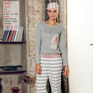Pierre Cardin 8687 Cizgili Ayi Baskili Tulum Http Pijamanette Com Pierre Cardin Page 2 Id 363 Pierre Cardin Sweaters Fashion
