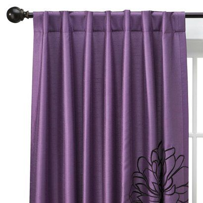 Purple Curtains From Target Love These 29 99 Curtains Purple
