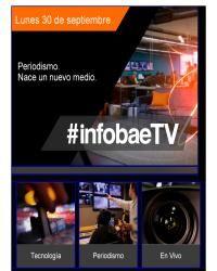 infobae - Nace un nuevo medio: infobaeTV
