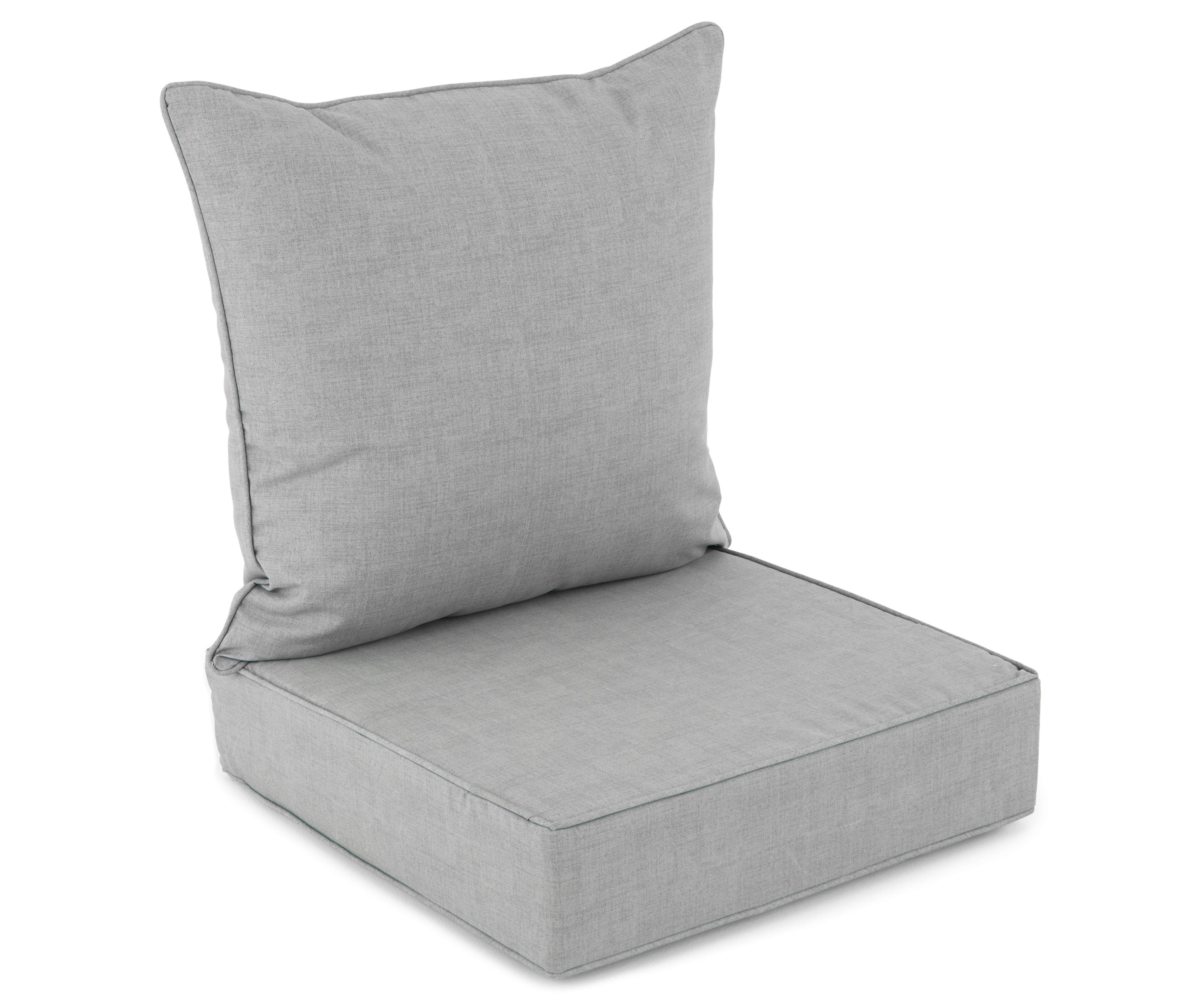 Deep Seat Back Cushion Sets Big Lots In 2020 Patio Cushions Deep Seating Diy Patio Cushions