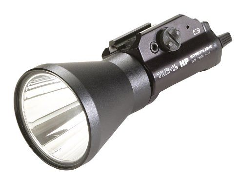 Streamlight 69215 TLR-1 HPL High Powered STD Rail Mounted Strobing Tactical Light with Rail Locating Keys Streamlight