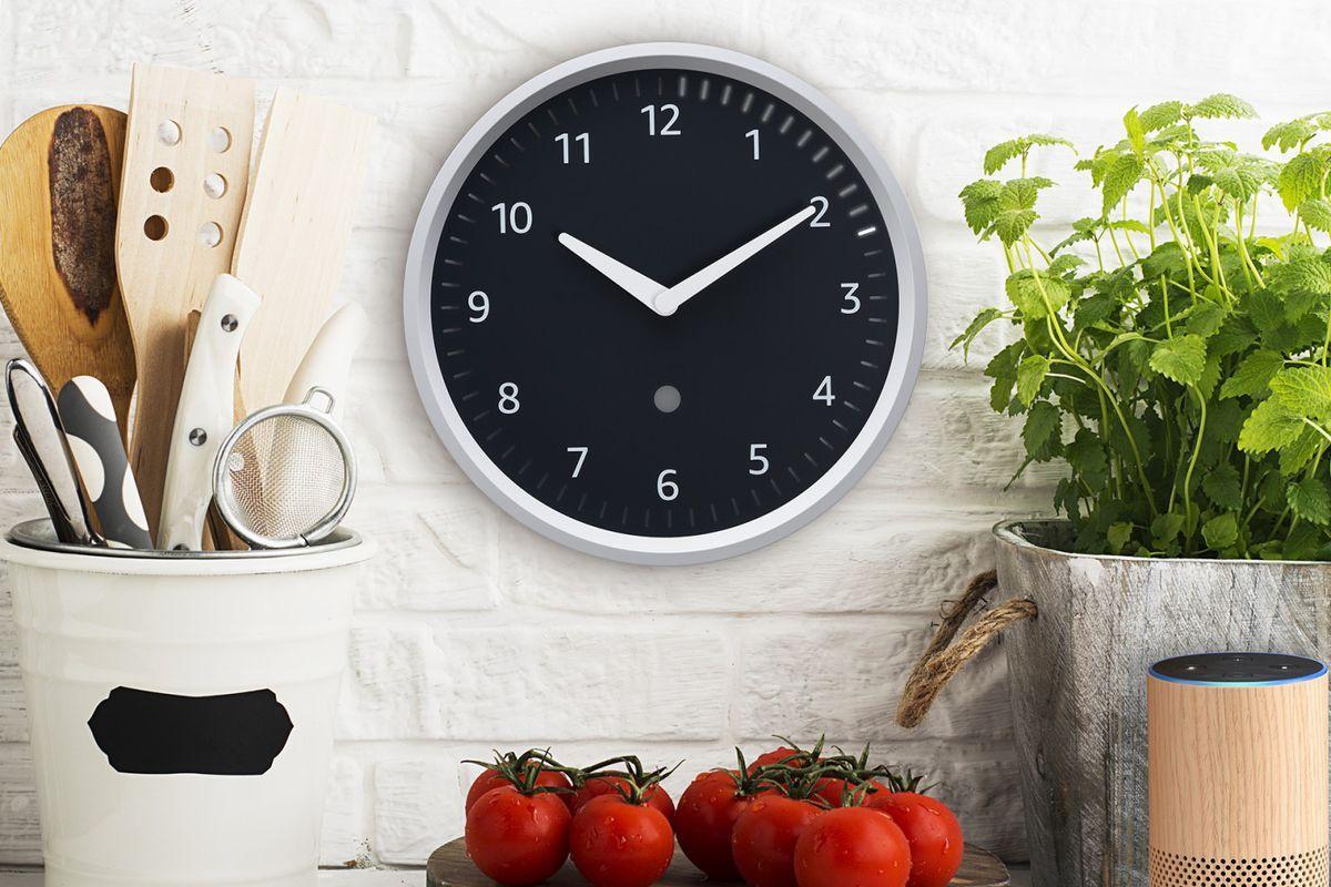 Bildergebnis für Amazon Echo Wall Clock Uhren, Wanduhren
