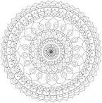 Mandalas para pintar online - Dibujos para colorear - IMAGIXS