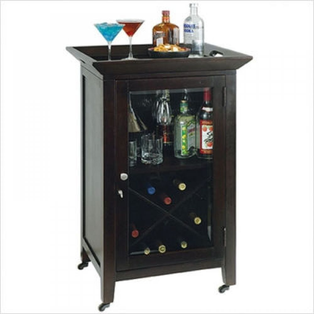 Small Corner Liquor Cabinet Bar Furniture For Apartment Your Residence