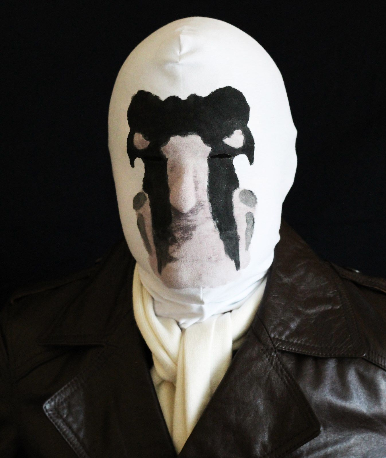 Moving Inkblot Mask Temperature Sensitive Thermochromic