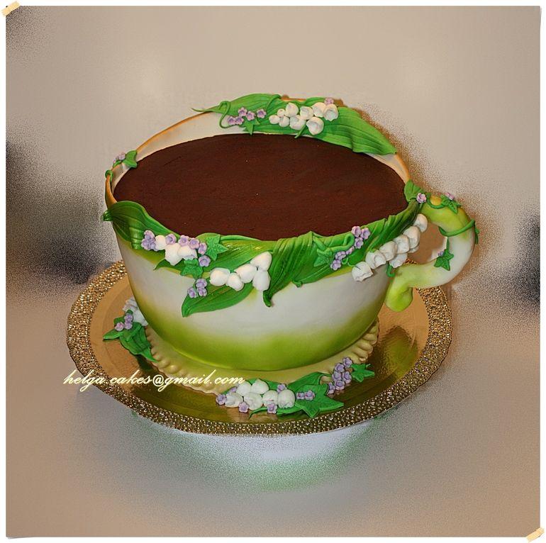 Торт чашка картинка