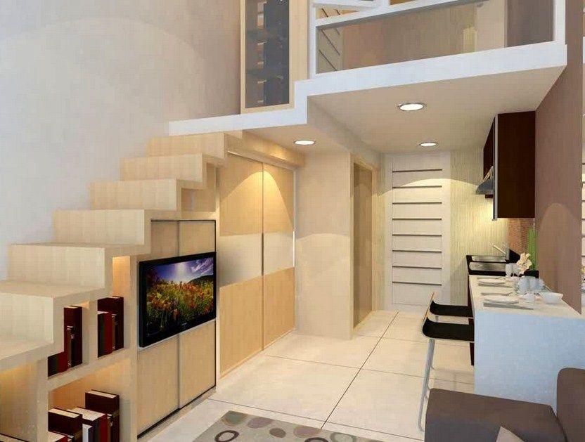 contoh desain apartemen 2 lantai