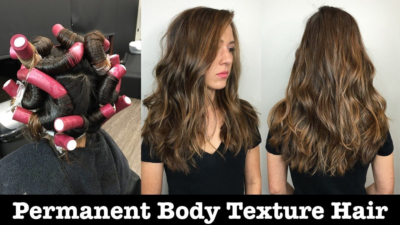 Permanent Body Texture Wave Wave Perm Body Wave Perm Permed Hairstyles
