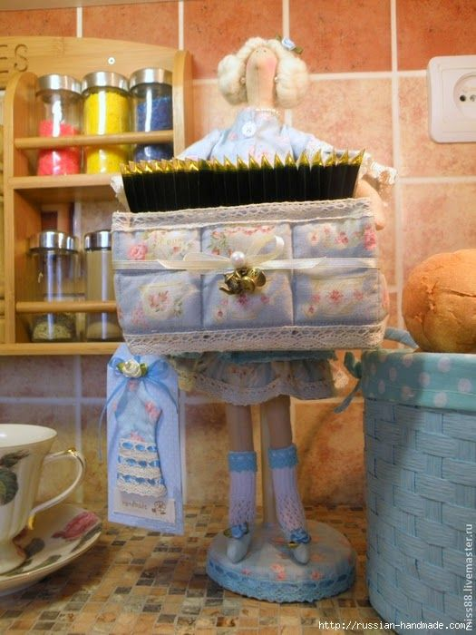 Mimin Dolls: Tilda porta chá