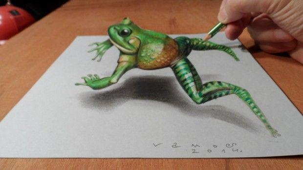 Estos Dibujos En 3d Son Realmente Sorprendentes Como Dibujar En 3d Dibujos 3d Como Dibujar Cosas
