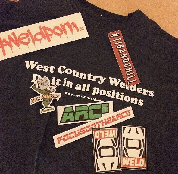 #westcoweld #ukwelding #welding #weld #weldingsticker #weldersticker #sticker #weldporn #weldernation #arcranger #ranger