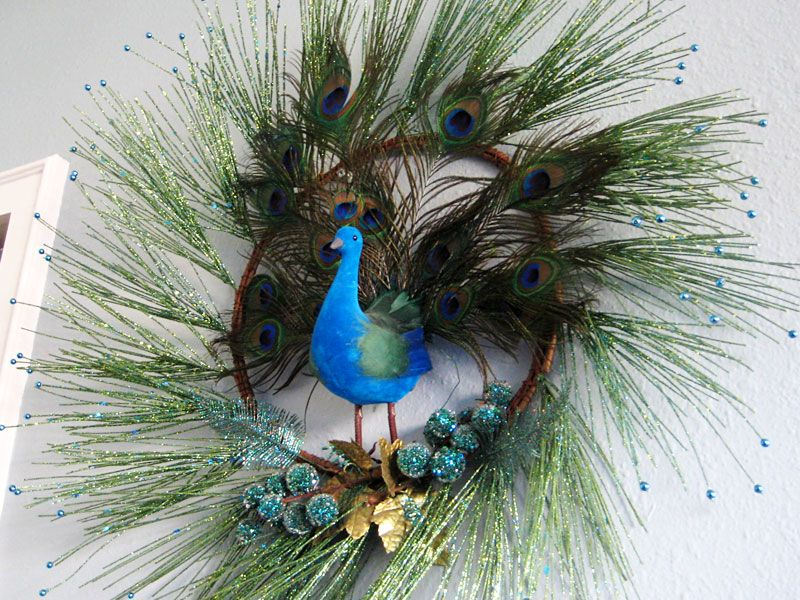 peacock home decor | seem to like peacocks. i was looking around