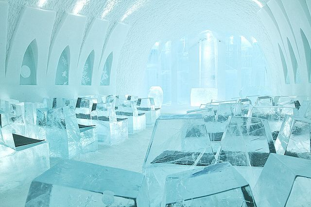 Ice Church The Icehotel Ice Hotel Amazing Travel Destinations