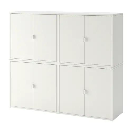 Bror Rangement Ferme Blanc Ikea En 2020 Ikea Rangement Rangement Ikea