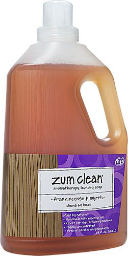 Zum Clean Aromatherapy Laundry Soap Frankincense Myrrh 64 Fl