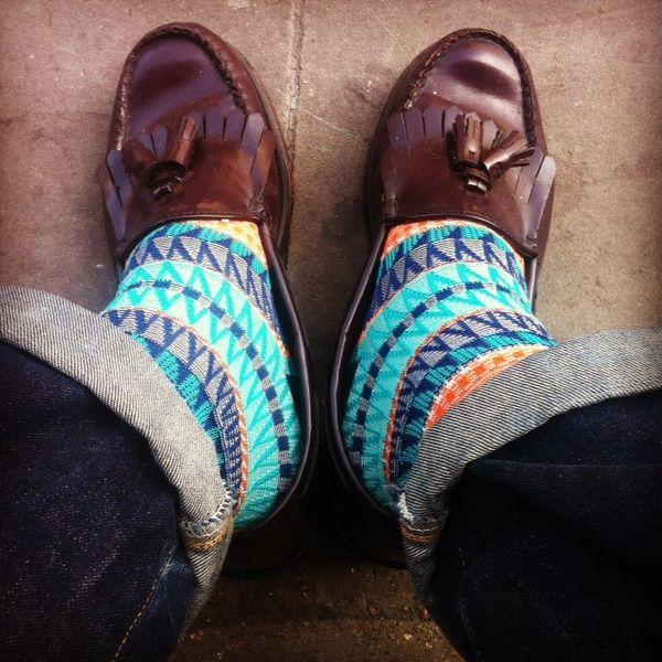 Gossip´s Fashion Week: calcetines de colores para hombre