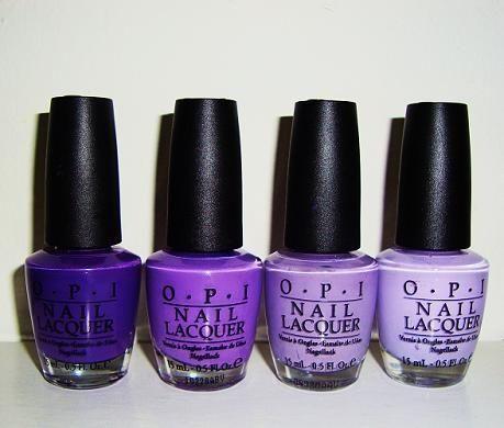 OPI Purples   NAILed it   Pinterest   Purple nail polish, Purple ...