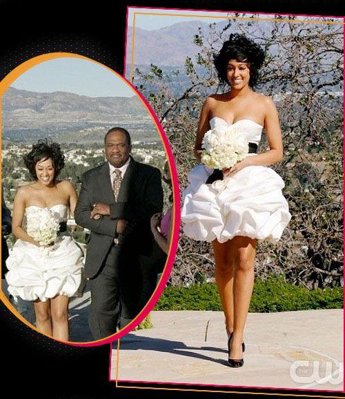 Tia Mowry Wedding Dress The Game Wedding Inspiration Strapless