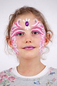 Prinzessin Schminken Anleitung Fur Fasching Oder Geburtstagsparty Familie De Kinder Schminken Prinzessin Schminken Halloween Schminken Kinder
