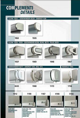 Acquista online o in negozio le nostre tende a rullo. Mottura Rulli 1 Curtain Brackets Building Materials