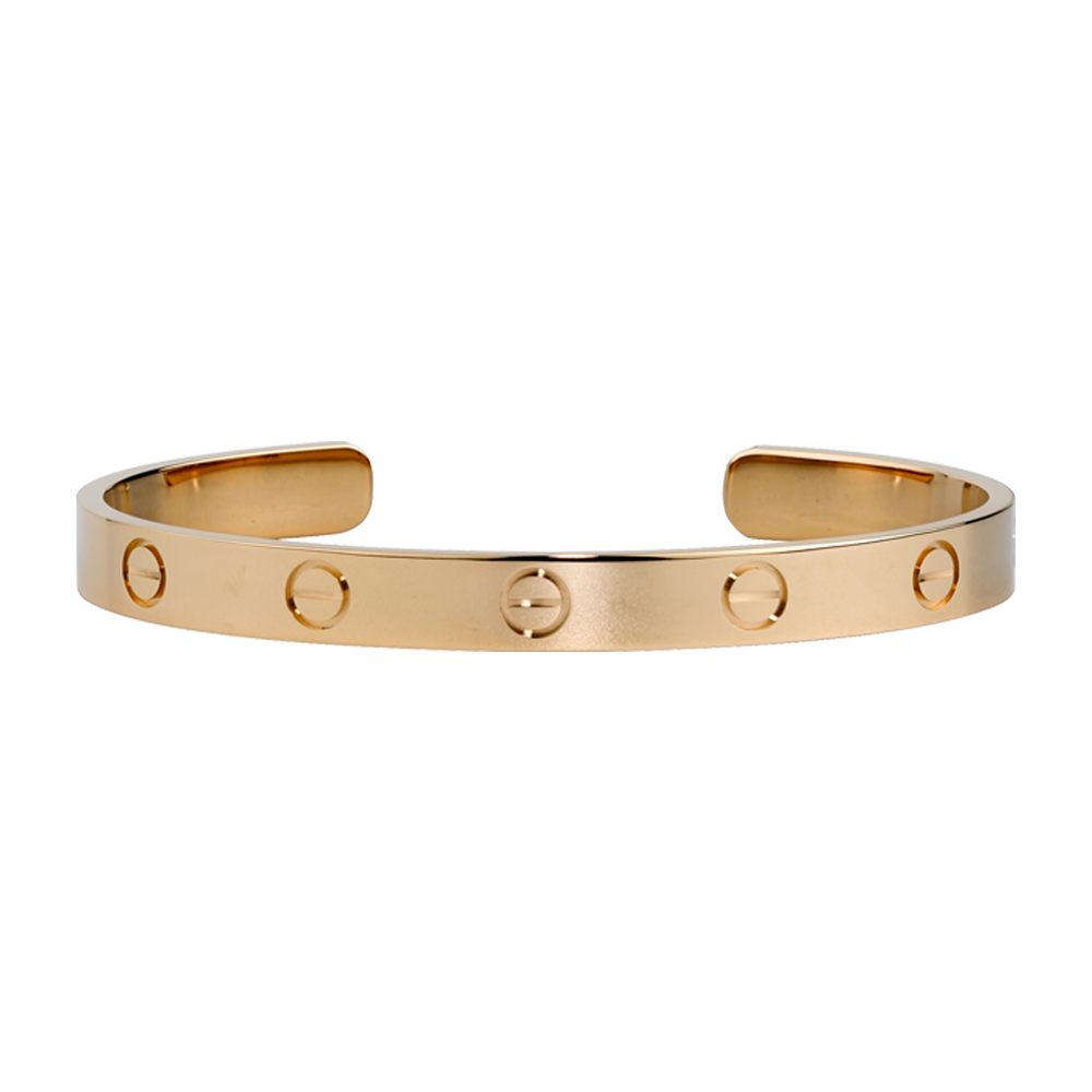 Bracelet en or cartier homme