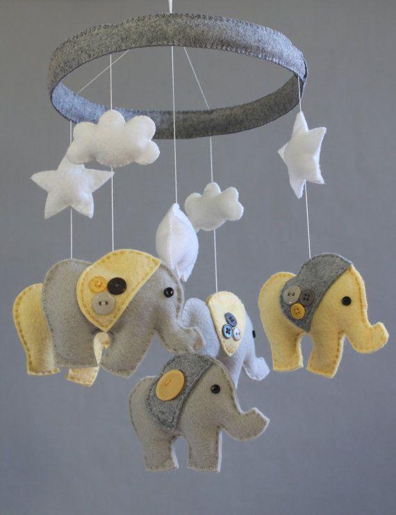 Best 25 Elephant Mobile Ideas On Pinterest Grey Baby