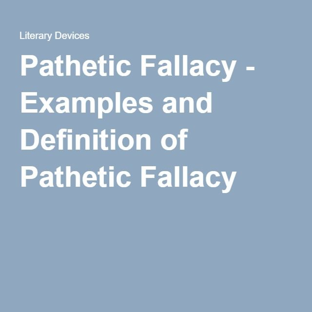 frankenstein pathetic fallacy Pathetic fallacy in frankenstein the pathetic fallacy is the treatment of inanimate objects as if they had human feelings, thoughts, or sensations.