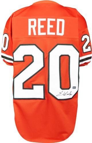 more photos 27322 24a7c Ed Reed Signed Custom Jersey - JSA #SportsMemorabilia ...